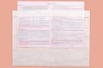 Плик за опаковъчен лист/фактури - прозрачен